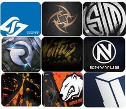 Wholesale Exclusive design Steelseries QCK Mouse Pad LOL Gaming Virtus pro Navi Fnatic CLG Origen envyus Titan TSM Team Mice Mat Mousepad