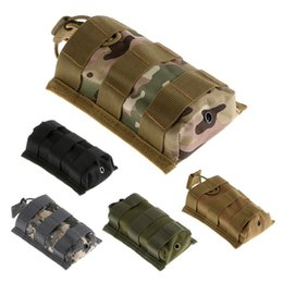 Wholesale Tactical Open Top Mag Magazine Cartridge Clip Pouch With Bungee System Molle Tactical Bag Sports Bag for Hunting