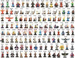 Wholesale 100pcs Marvel Super Heroes Avengers Batman Star Wars MinifiguresBuilding Blocks Bricks Figures