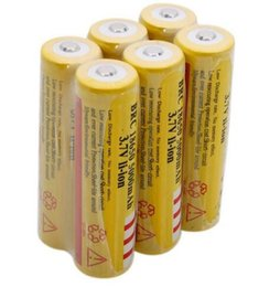 Factory price High quality ultrafire 18650 3.7V 5000mAh rechargeable lithium battery for Flashlight laser pointer