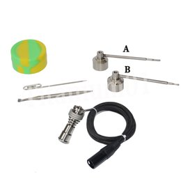 Fit 16mm heating coil 14&18mm Female Titanium nail with Fit 22mm bowl Titanium carb cap with 1 random Silicone Jar Container with 2 Real Ti