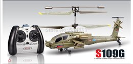 Wholesale Syma S109G Apache AH Channels Mini Indoor RC Helicopter RTF