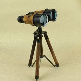 Wholesale Medieval Style Home Decoration Antique Furniture Room Furnishings Vintage Telescope