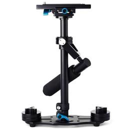 Wholesale Mcoplus Protable S quot cm Aluminium Handheld Video Camera Stabilizer Steadicam Steadycam for Video DV Camcorder DSLR