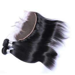 Wholesale Special Link for Best Quality A x4 Straight Ear to Ear Lace Frontal inch With Pieces Straight Hair