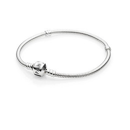 Wholesale DIY Style Sterling Silver The snake chain For Pandora Bracelet European Bead Bracelet Accessories Fashionable