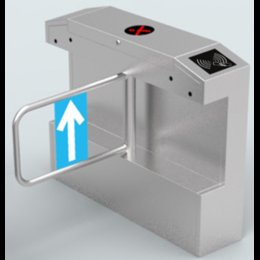 Wholesale Automatic ticketing system security door entrance walkway attendance system of bridge waterproof infrared swinging gate machine
