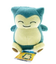 Wholesale 6 quot cm Hot Sale Poke Pocket Monsters Snorlax Plush Doll Stuffed Toy Pikachu Animals For Baby Gifts