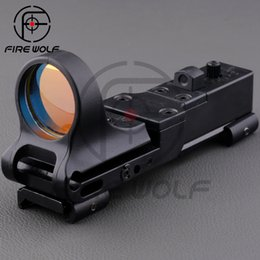 Wholesale 2016 NEW EX Element SeeMore Railway Reflex C MORE Red Dot Sight holographic Optical instruments