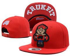 Wholesale New Hot sale Brand Men and women Truck Trukfit Snapback flat brimmed hat Skate Cap hiphop hip hop baseball cap Hat