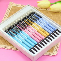 New hot (24 pieces set ) HB box pencil standard pencils student hexagonal Hexagon rod drawing cartoon pencil