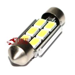 Acheter en ligne À double lampe de lecture-Usine d 'alimentation voiture conduit double point lampe de lecture 36mm5050 12 lumières à l' intérieur de la lampe