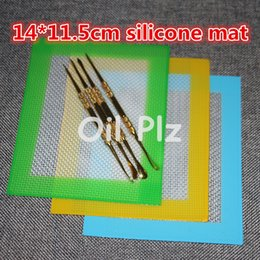 Wholesale high quality Silicone wax pads dry herb oil mats cm cm silicone dab mat food grade baking mat dabber sheets jars dab mat