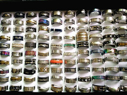 wholesale bulk lots 1000pcs mixed styles high quality stainless steel fashion stock rings discount price brand new