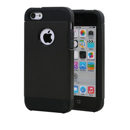 New Arrival Rugged Dual Layer Slim Armor Shockproof Cell Phone Case For iPhone 5c Fashion phone case