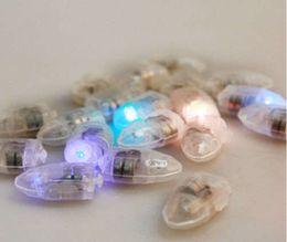 Luces individuales con pilas en Línea-SXI 50pcs / lot venden al por mayor 2 AG13 batería funcionó la mini luz sola del globo del nuevo LED del estilo