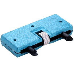 Wholesale Popular Rectangle Adjustable Watches Back Case Cover Opener Remover Wrench Repair Kit Tool NO181 V9O
