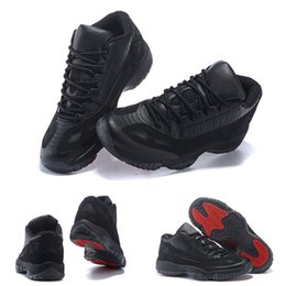 (With SHOES Box)Free Shipping Retro 11 XI 306008-003 Referee Black True Red Hot Sale Men and Women Hot Sale Shoes