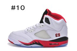 Wholesale Air Retro Retro V Black Tongue Fire Red White OG Sneakers Shoes Cheap Sale Running Sneakers For You