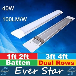 Wholesale Explosion Proof T8 LED Tubes Batten Lights FT FT FT FT LED tri proof Light Tube Replace Fixture Ceiling Grille Lamp AC V