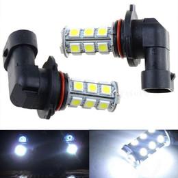 new arrival!2x 12V HB3 9005 18SMD 5050 LED HID White LED Car DRL Fog Driving HeadLight Bulb Lamp CLT_02Z