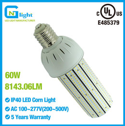60W E40 SMD Epistar LED Corn Light COB Bulb with 2835 LED Chip high brightness lighting bulb