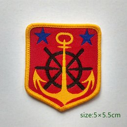 Boat Anchor Sailing Ocean Badge Patch Military style Shirt Trousers Vest Coat Skirt Bag Kids Gift Baby Decoration