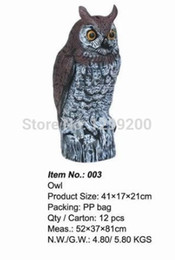Wholesale plastic owl outdoor hunting decoys garden decoration Ornaments and retail for hunting decoys
