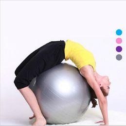 Wholesale 45cm Yoga Erercise Fitness Balls Yoga Balls Fitness Ball Gym Fitness Balls Yoga Pilate ball chair yogas Body Massager ball