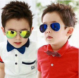 2015 New Fashion Baby Boys Kids Sunglasses Piolt Style Brand Design Children Sun Glasses 100% UV Protection Oculos De Sol Gafas