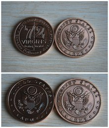 Wholesale NEW US Army Virgins Bronze Antique Challenge Coin