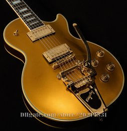 Wholesale 10S Custom Shop Limited Edition Goldtop Fort Knox Electric Guitar