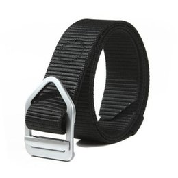 Wholesale Casual US Blackhawk Army Belt Men s Nylon Fastness SWAT Training Combat Outdoor Miitary Tactical Belts With Alloy Buckle Hiking