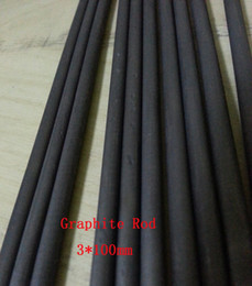 Wholesale 3 mm High Purity Carbon Graphite Rod Bar For Electrodes Smelting Experiment
