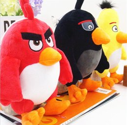 Wholesale Special offer Manufacturers selling angry birds two generation doll plush toys scratching machine wedding gifts