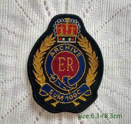Britain Emblem National Motif Archive Badge Sew On Patch Shirt Trousers Vest Coat Skirt Bag Kids Gift Baby Decoration