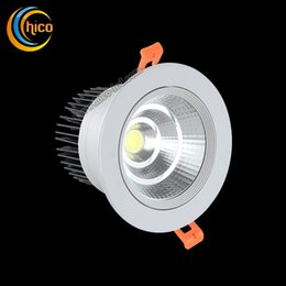 COB LED downlight 3W 5W 7W 10W surface mounted led downlight AC85-265V White Warm white Aluminum Heat Sink convenience lamp