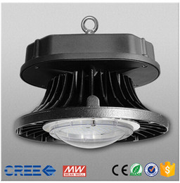 2016 New design Cree chip with MeanWell SMD2525 LED UFO high bay light 80W 100W 120W 150W AC85-265V high bay light industrial lighting