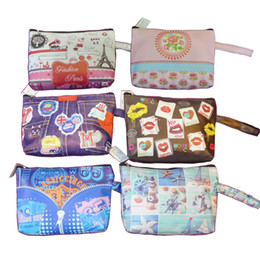 Purse Wallet, Womens Zippered Wallet With European And American Style Card Holder Coin Purse Handbag ( 6 Styles of bag )