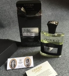 Wholesale DHL high quality PERFUME Creed AVENTUS black luxury napoleon s men perfume ml water with long lasting time good smell