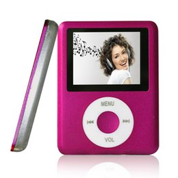 Wholesale MINI USB Port TF Memory Slim Classic Digital LCD MP3 Player MP4 Player MP3 Music Player E book Photo viewing Video Playing Movie