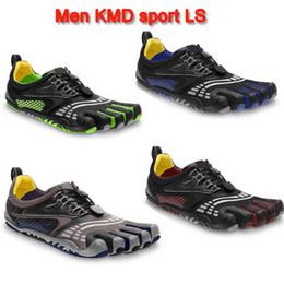 Wholesale Los nuevos hombres de zapatos de deportes cinco dedos de la montaña Escalada Senderismo hombre Flats Atlética zapatos de los dedos del pie de los zapatos ocasionales al aire libre del envío