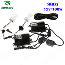 12V 100W Xenon Headlight 9007 HID Conversion xenon Kit Car HID light with AC ballast For Vehicle Headlight KF-K2002-9007