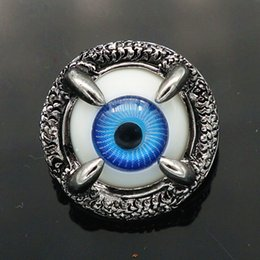 Wholesale Fashion KZ1192 Beauty Stereo beast eye MM ginger snap buttons for DIY ginger snap Jewelry Accessories charm