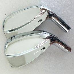 New mens Golf Heads MP-69 Soft iron Golf irons Heads 3-9P Right Handed Golf clubs heads irons set no shaft Free shipping