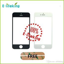 Wholesale 100piece Front Glass Screen With OCA adhensive Touch Panel Digitizer For iPhone G SRepair Part Replacement Lcd Screen display