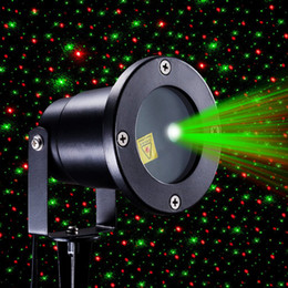 Red and Green Firefly Laser Light Sparkling Star Projector IP65 Waterproof Outdoor Laser Christmas Lights with Wireless Controller for Holi
