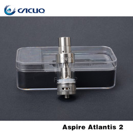 2017 atlantis vape Authentique Aspire Atlantis 2 vaporisateur 3ml E Cigarette Atomizer Tank combiné smok alien vape mods 18650 batterie mods atlantis vape promotion