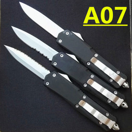 microtech Troodon A07 3 models optional white blade Hunting Folding Pocket Knife Survival Knife Xmas gift for men 4pcs freeshipping