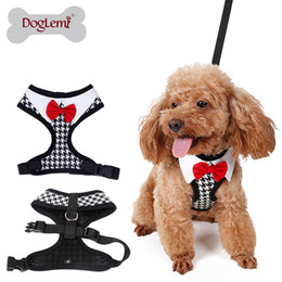 Free shipping Elegant Peppita Designer Puppy Vest Harness Soft Mesh Dog Pet Walking Harness